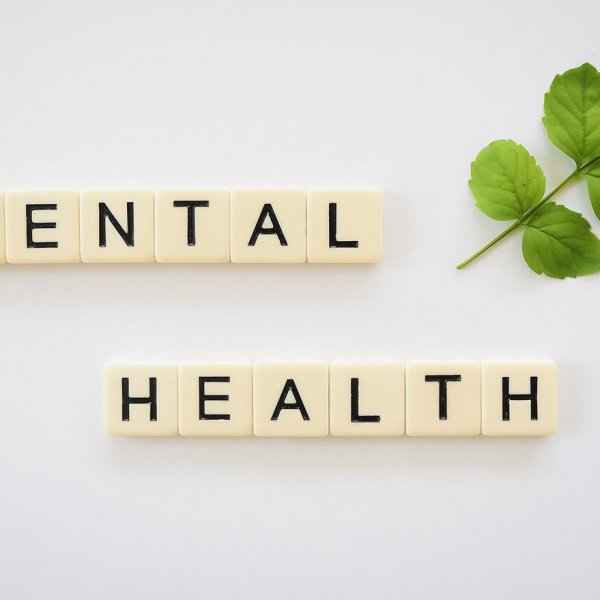 image of scrabble tiles to represent Total Body Wellness, Brownsburg's mental health services